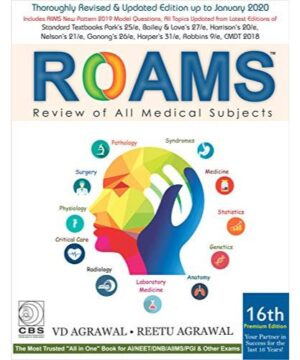 ROAMS Review of All Medical Subjects By V.D. Agrawal