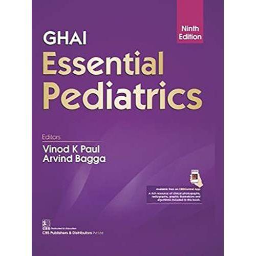 GHAI ESSENTIAL PEDIATRICS 9ED (HB 2019) By PAUL V K