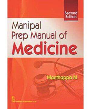 Manipal Prep Manual of Medicine 2Ed (PB 2019) By Manthappa M.